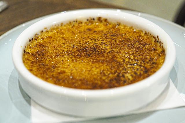 vaniljainen crème brûlée