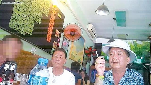 Nhóm bảo kê chợ Long Biên