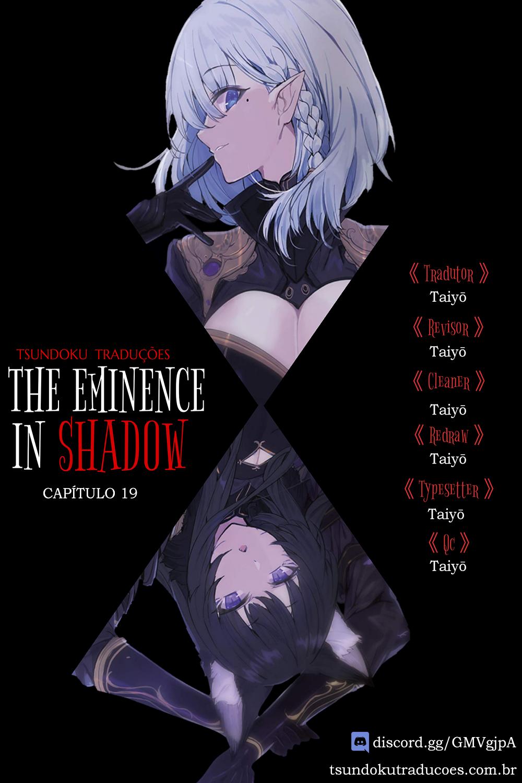 Kage no Jitsuryokusha ni Naritakute / The Eminence In Shadow Mangá Online Capítulo 19 em PT-BR