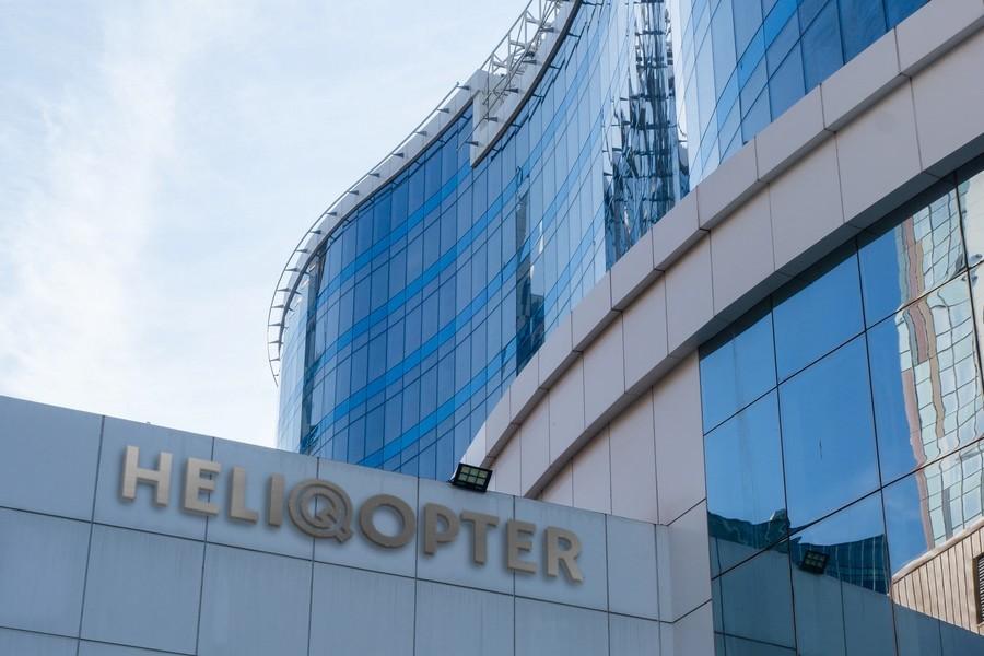Heliqopter Mock Building