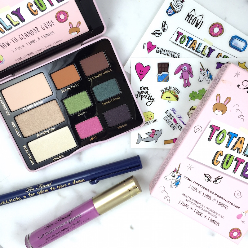 Too Faced Totally Cute palette: A quick review