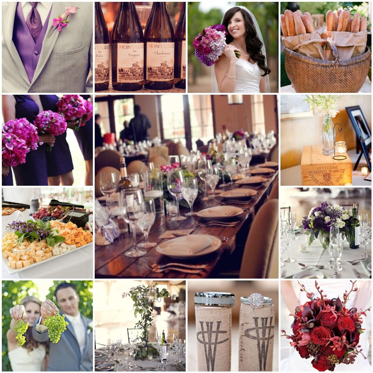 Wine Wedding: Vineyard-inspired Wedding