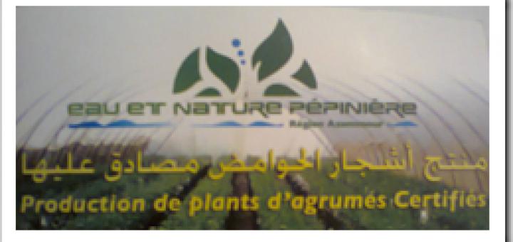 Eau et Nature Pépinière – Une pépinière Marocaine