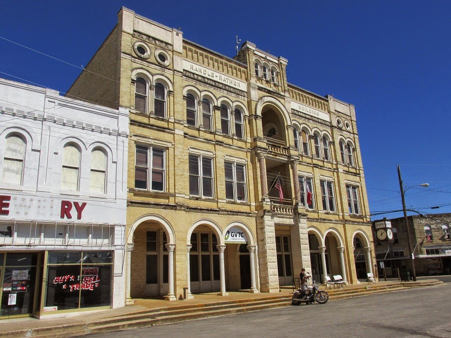 historic buildings gonzales texas