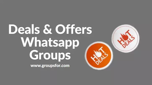 Deals and Offers Whatsapp Groups