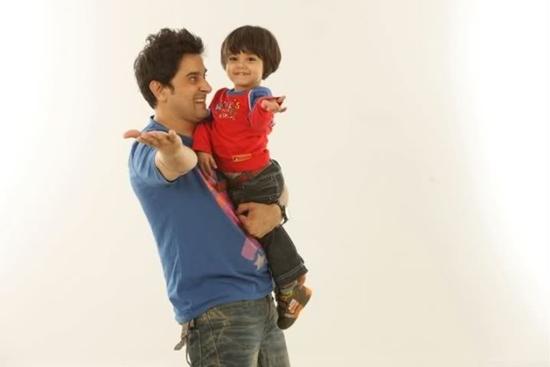 Mani with his son Muzammil