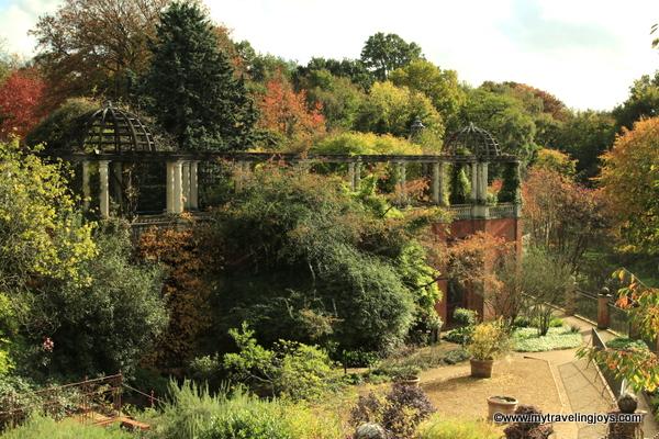 View of Hampstead Pergola in London