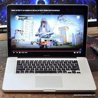 Jual MacBook Pro 15-inch Core i7 Late 2011 - Banyuwangi