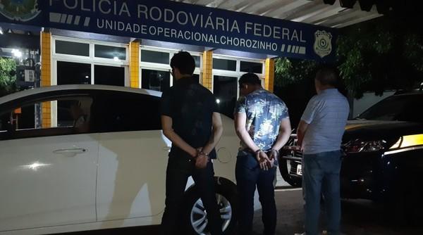 Trio suspeito de integrar quadrilha que fraudava benefícios do INSS no Nordeste é preso no Ceará
