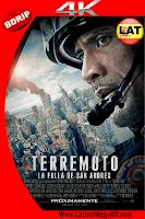 Terremoto: La Falla de San Andres (2015) Latino Ultra HD 4K 2160P - 2015
