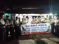 Mantap! Kapolres Lamsel Gelar Kegiatan Patroli Subuh dan Sholat Berjamaah bersama Masyarakat