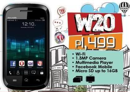 cherry mobile w20 vxp games