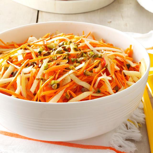 Carrot-Apple Slaw