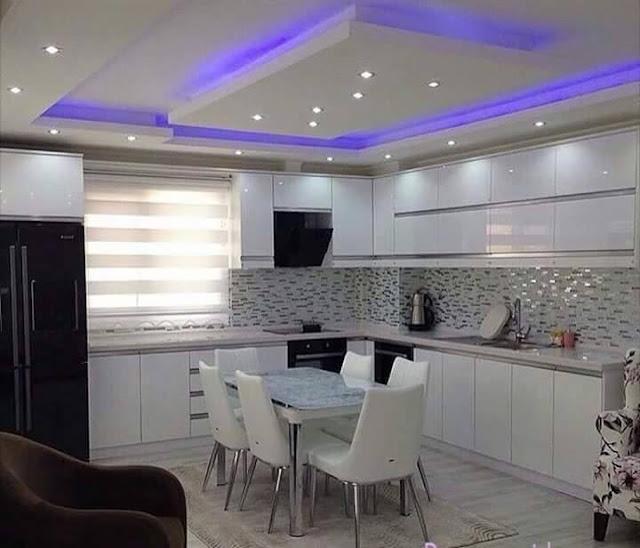 False Ceiling Lights Kitchen