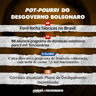 ANDRÉ FIGUEIREDO - POT-POURRIR DO DESGOVERNO BOLSONARO