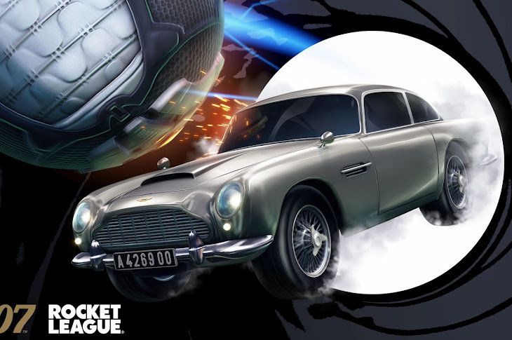 James Bond's Aston Martin DB5 Is Coming To Rocket League