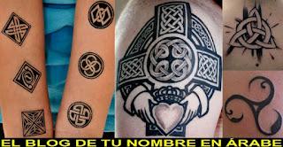 Simbolos celtas tattoos
