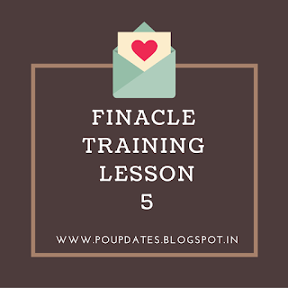 finacle training lesson 5 by poupdates