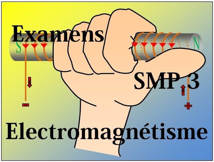 Examens corrigés Electricite 2 SMP S3 PDF