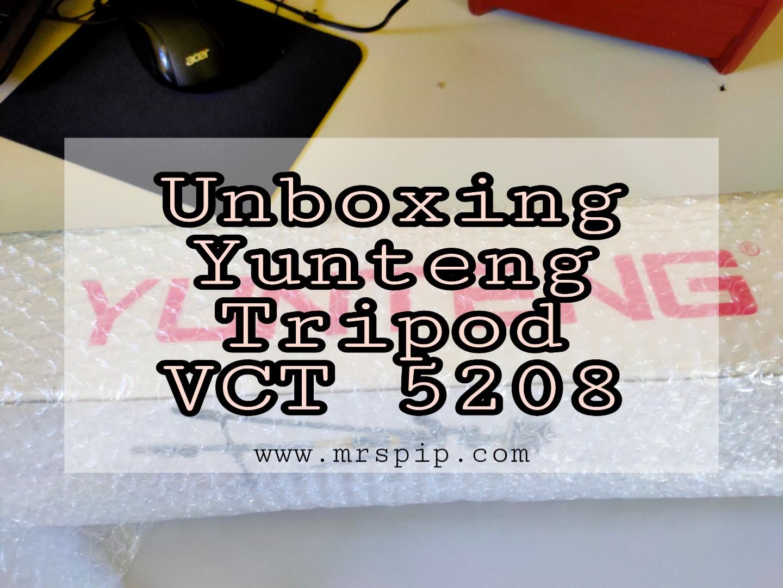 Yunteng Tripod Model VCT-5208 murah di Shopee.