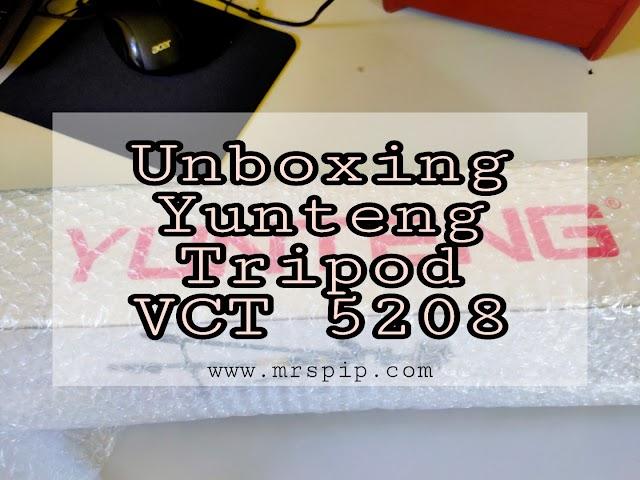 Beli Yunteng Tripod Model VCT-5208 di Shopee ; Kuat & Tahan Lasak