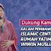 Pembangunan Islamic Center Rumah Yatim Wiwin Muslimah