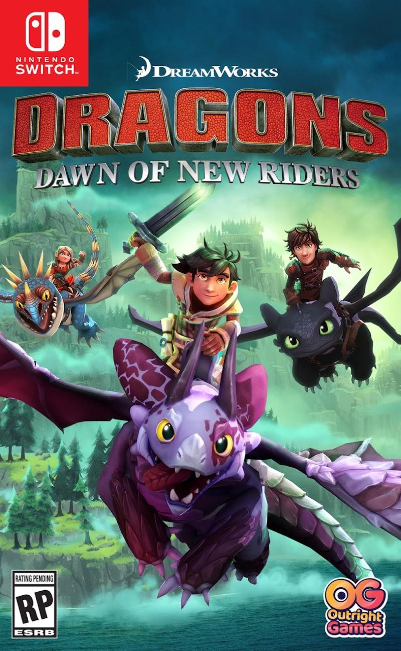DreamWorks Dragons Dawn of New Riders 2019
