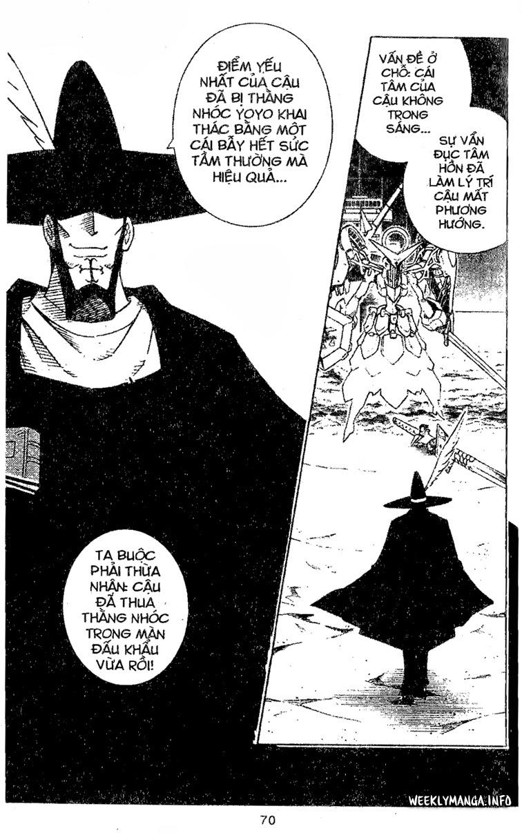 Shaman King [Vua pháp thuật] chap 212 trang 19