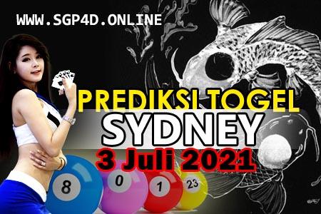 Prediksi Togel Sydney 3 Juli 2021
