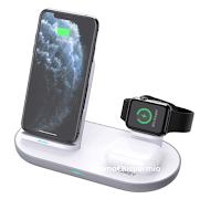 Vinci gratis Aukey Caricatore wireless  3 in 1 LC- A3 per iPhone 12, iWatch, AirPods Pro (valore € 36)
