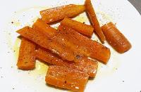 Zanahorias para guarnición