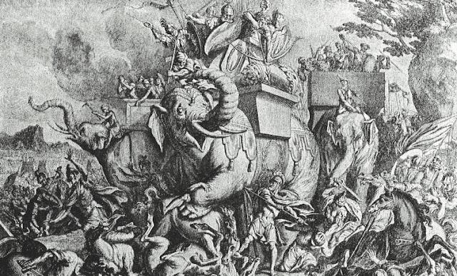 Menelisik Kematian Pasukan Tentara Gajah