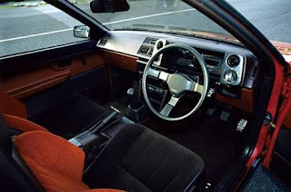 Toyota Sprinter Trueno Interior