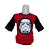Star Wars 1 - Kaos Raglan Anak Karakter Star Wars 1 Merah (KAK-SWS-01)