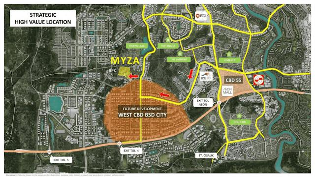 Rumah 700 Jutaan Di BSD City Cluster Myza