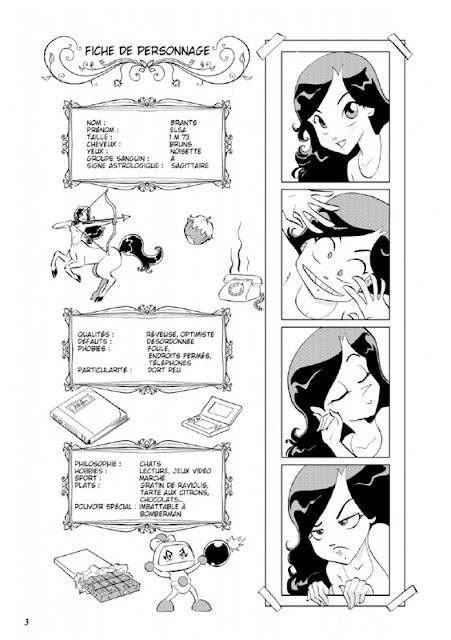 Par le pouvoir des dessins animés: Fiche de personnage: Elsa Brants