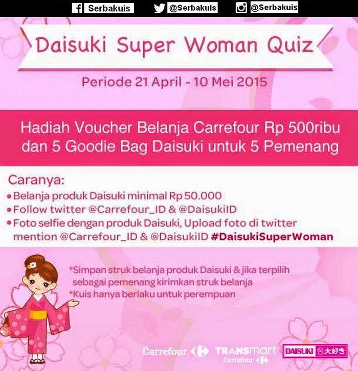 Daisuki Super Woman Quiz