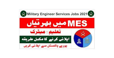 MES Jobs 2021 Online Apply