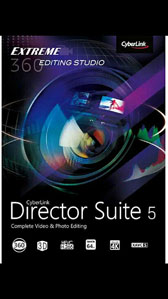 Cyberlink Director Suite 5 Power Video/Photo/Audio Editing Windows