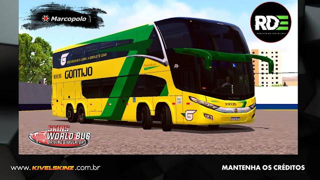 PARADISO G7 1800 DD 8X2 - VIAÇÃO GONTIJO (PINTURA FICTÍCIA)