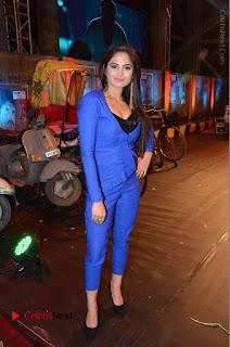 Actress Naina Ganguly Stills in Blue Dress at RGV Shiva to Vangaveeti Event  0043.JPG