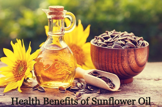 Benefits of sunflower oil