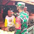 Pasar Terapung Tembilahan di Grebeg Tim Penegakan Disiplin Covid 19