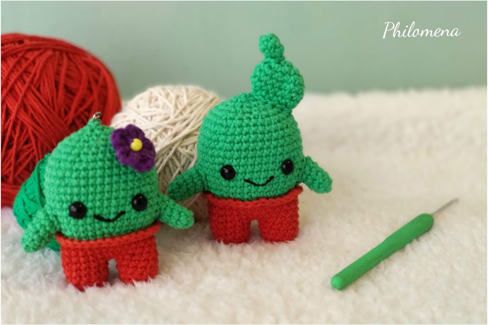Llaveros crochet cactus, tres formas – Ana Fonty | 1066x1600