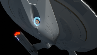 Akira class starship deflector array