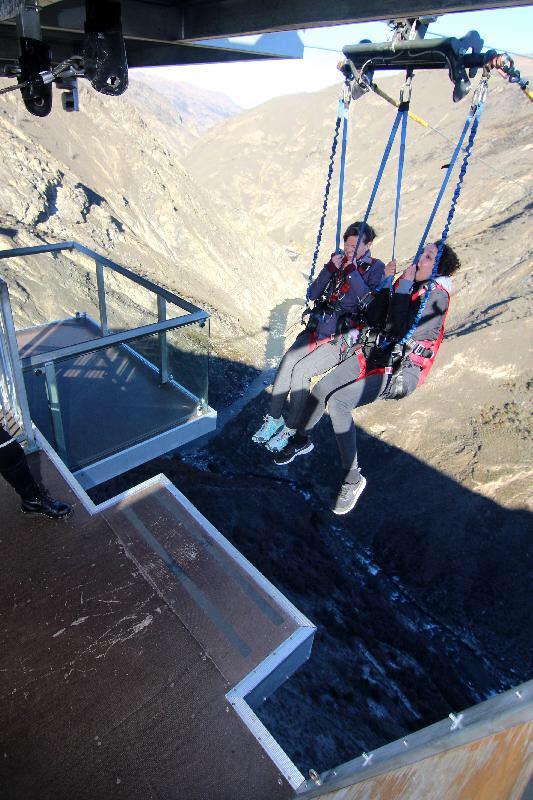 The world's biggest swing