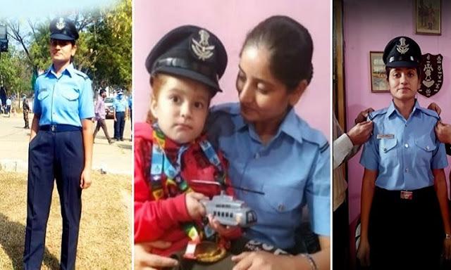 पति के गुजर जाने के बाद भी नहीं मानी हार, 1 बच्चे की देखभाल करते हुए देश की सेवा करने के लिए बनी फ्लाइंग ऑफिसर