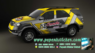 Striping hilux