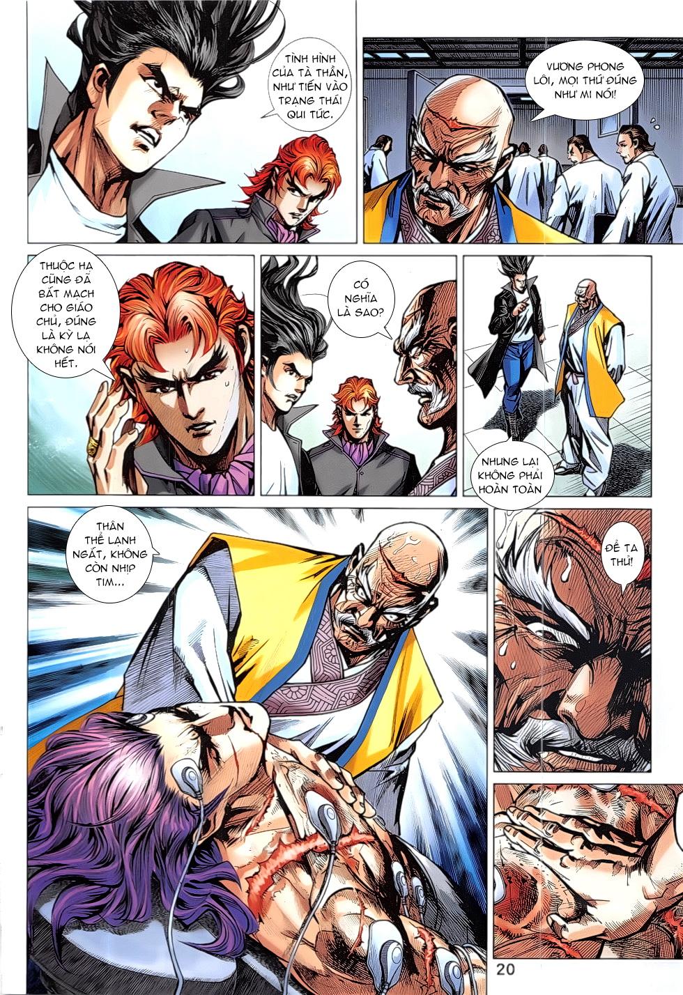 Tân Tác Long Hổ Môn Chap 837 page 20 - Truyentranhaz.net