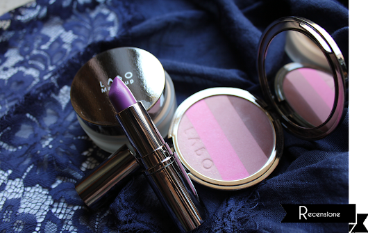 Recensione [Smoothing Cream Foundation, Blush on stripes, Long Lasting Lipstick - Labo Suisse]